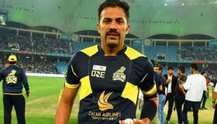 Pakistan Cricketer Wahab Trolled for whiskers - Sakshi
