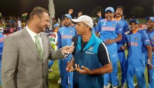Rahul dravid says really proud of the boys - Sakshi