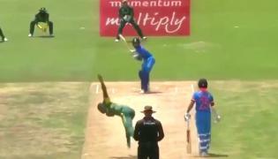 Virat Kohli left Kagiso Rabada with his tail between his legs - Sakshi