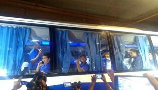India U-19 World Cup winning team returns to grand reception - Sakshi
