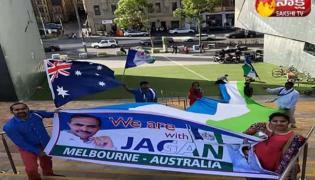 YSRCP Celebrate Party Foundation Day in Australia - Sakshi