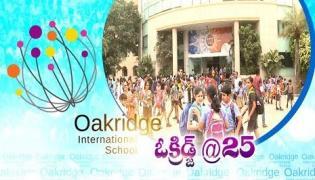 Silver Jubilee Celebrations in  Oakridge International Schools  - Sakshi