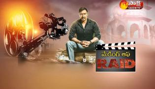 Making Of Movie Raid - Sakshi