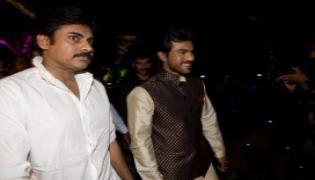 Pawan Kalyan Watched Rangasthalam Movie  - Sakshi