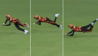 Manish Pandey Super Fielding Against KKR - Sakshi