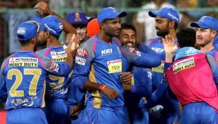 Rajasthan Royals Won By 19 Runs Against RCB - Sakshi
