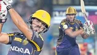 Kolkata beat Delhi by 71 runs - Sakshi