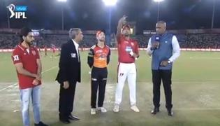 Kings Punjab won the toss and elected to bat first - Sakshi