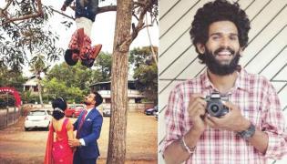 Upside Down Wedding Photographer Reveals His Story - Sakshi