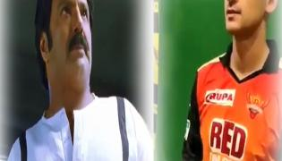 SRH Player Alex Hales Imitates Balakrishna Dialogue Video Goes Viral - Sakshi