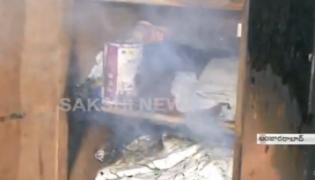Fire accident in Banjara hills - Sakshi