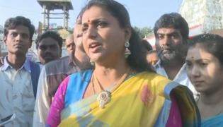 YSRCP MLA RK Roja Comments On  TTD Board Members Issue - Sakshi