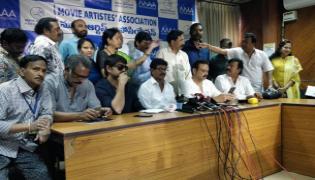 MAA Association Press Meet Against Sri Reddy - Sakshi