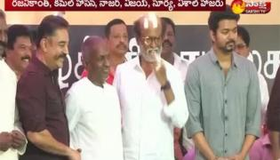 Cauvery issue: Actors stage protest in Chennai - Sakshi