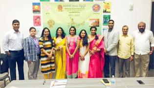 ATA TATA Conducts Painting Competitions in Dallas - Sakshi