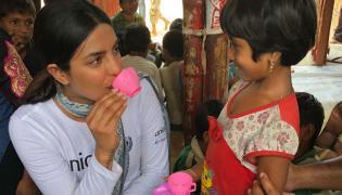Priyanka Chopra Visits Refugee Camp In Bangladesh And Internet Users Trolled Her - Sakshi