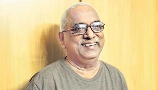 74 Year Old Indraganti Srikanth Sharma Writes A Romantic Song - Sakshi