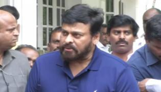 Chiranjeevi Condolence to Madala Ranga Rao - Sakshi
