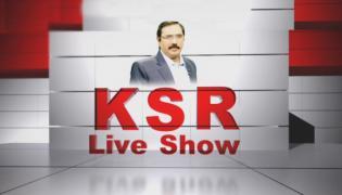 Debate on Polavaram Project works - KSR Live Show - Sakshi