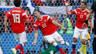 Russia thrash Saudi Arabia 5-0 in tournament - Sakshi