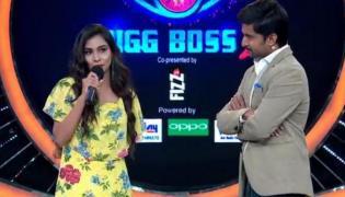 Sanjana Anne eliminated from Bigg Boss2 - Sakshi