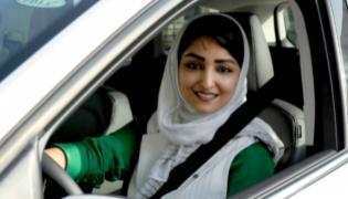 Women Driving Ban Ends In Saudi Arabia - Sakshi