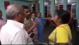 Women Hulchul In Guntur Railway Station - Sakshi