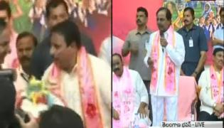 Congress party leader danam nagender joins trs - Sakshi