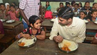 Kerala IAS Eats Food To Check Quality In School - Sakshi