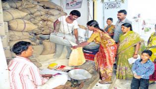 Ration dealers must strike - Sakshi