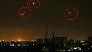 Two Yemen rebel missiles intercepted over Riyadh - Sakshi