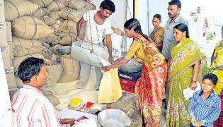 Telangana Ration Dealers To Go On Strike  - Sakshi