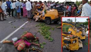 road accident in lingampally ,5 killed - Sakshi