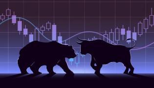 Nifty ends below 10,800, Sensex down 219 pts - Sakshi