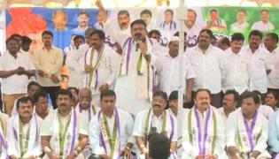 Huge support for Kadapa steel plant protest - Sakshi