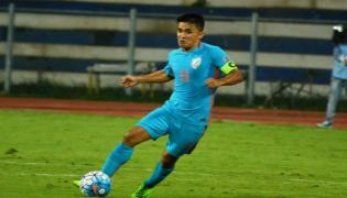 Sunil Chhetri Top 5 Goals video goes viral - Sakshi
