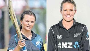 NZ women hit ODI record 490 against Ireland - Sakshi