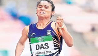 Hima Das the new poster girl of Indian athletics - Sakshi