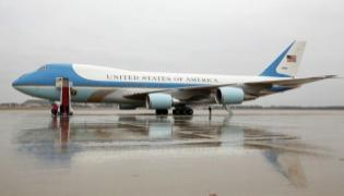 American President Wants Air Force One To Be Look More american - Sakshi