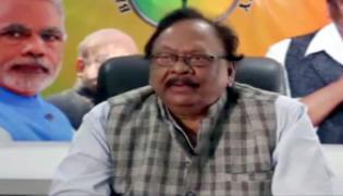 BJP Leader Krishnam Raju Slams TDP In VIjayawada - Sakshi