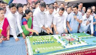 YSR Birth Anniversary Celebrations At YSRCP Central Office - Sakshi