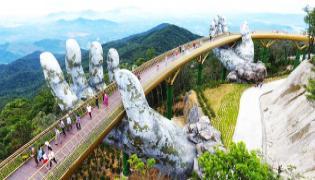 Vietnam bridge: Walking through a god's hands - Sakshi