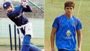 Virat Kohli and co face Arjun Tendulkar at the nets ahead of Lord's Test - Sakshi