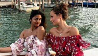 Shah Rukh Khan's daughter Suhana Khan is enjoying in Venice - Sakshi