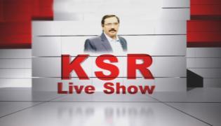 Debate On Rahul Comments On TRS - KSR Live Show - Sakshi