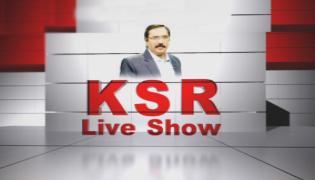 Debate on Rahul Comments on Modi And KCR - KSR Live Show - Sakshi