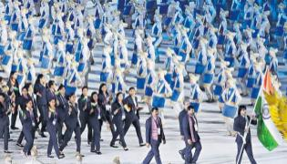 Asian Games 2018 Opening Ceremony - Sakshi