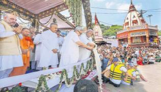 Former PM Vajpayee's ashes immersed in Haridwar  - Sakshi