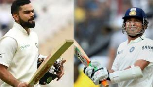 Stunning Similarity Between Kohli And Tendulkar 58th International Century - Sakshi