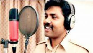 Bengaluru Cop Chain snatching song  Goes Viral In Social Media  - Sakshi